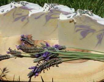 Goat Milk Lavender Soap - All natural, Cold process soap