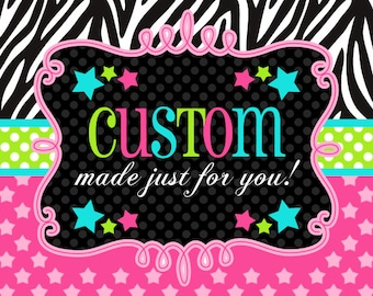 Custom Cookies - Your Choice of Design