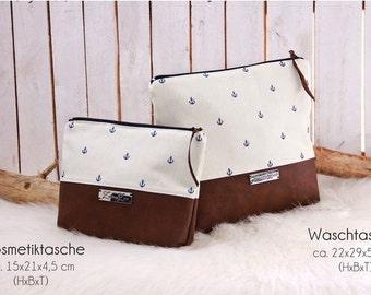 Small bag - Anchor Navy blue/cream-