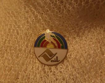 Vintage Colorado Vail Georgetown Colorado Springs Aspen Black Canyon Gunnison Enamel buttons or pins