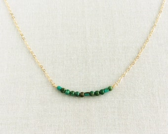 BFF Turquoise Morse Code Necklace - BFF Morse Code Necklace - BFF Necklace - Best Friend Necklace - Friendship Necklace  - Morse Code