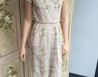 Original Vintage 1950s 'B Altman' Dress. Stunning. Guide Size 8. #A8