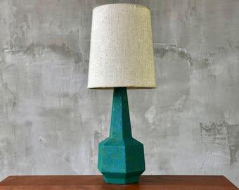 Geometric Ceramic Lamp.