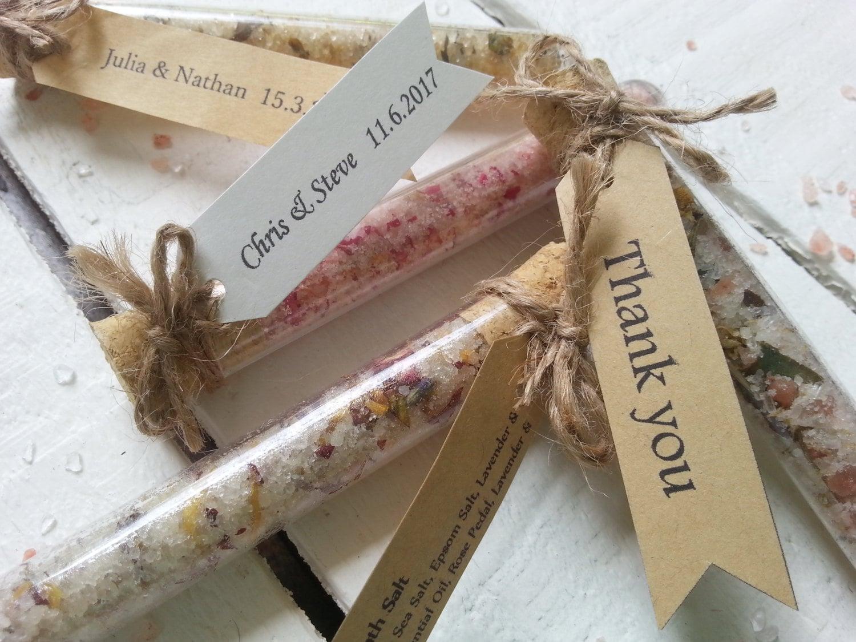 Wedding Gift Quiz : Wedding Favour Bath Salt Test Tube. Wedding Favour Bath Salt.