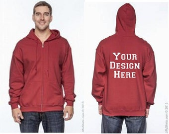 Design Your Own Zip Up Hoodie