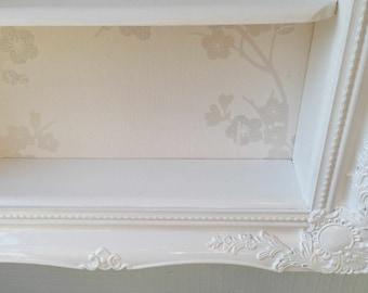 Items Similar To White Nursery Frame Oval Ornate Photo