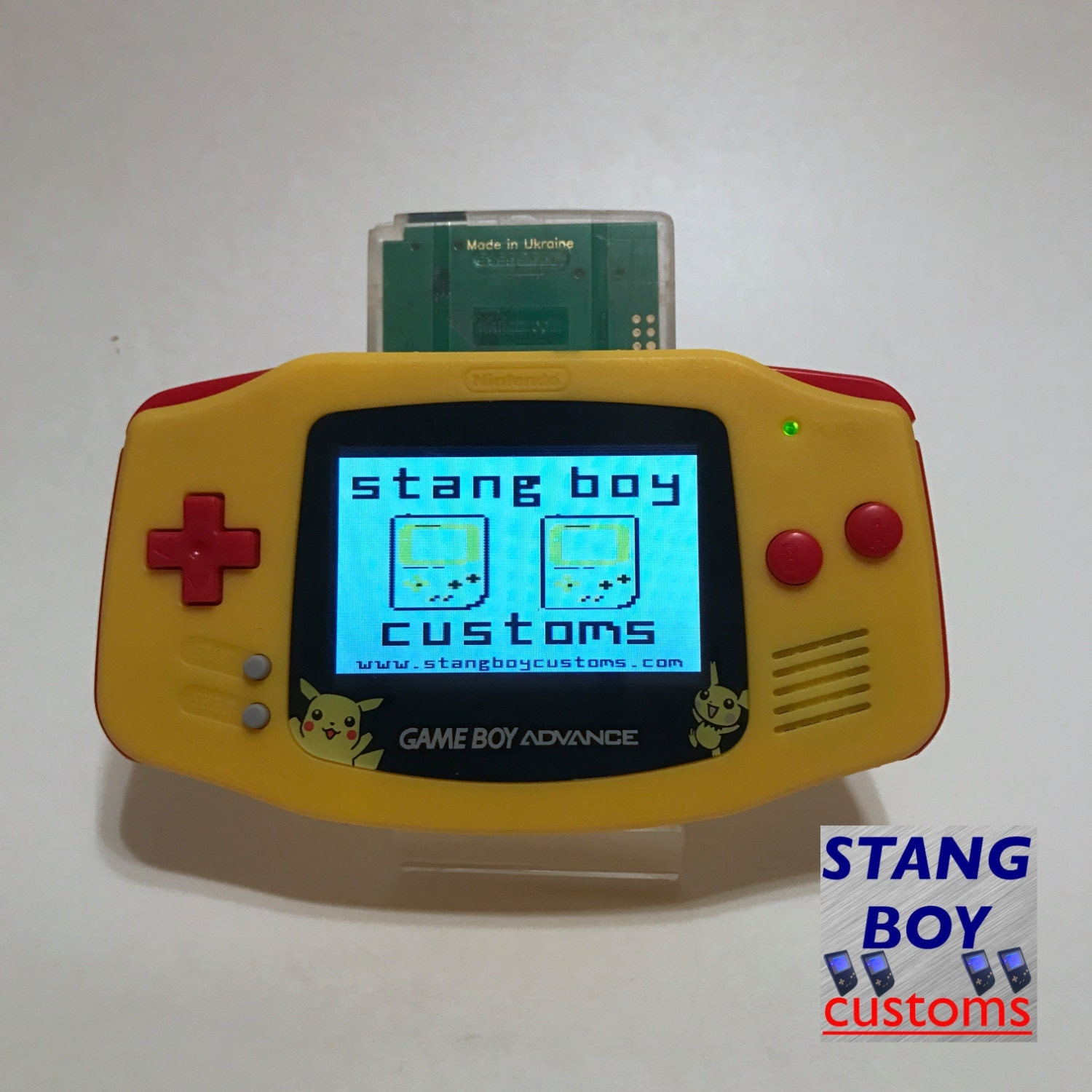 Gameboy color screen mod -  Zoom