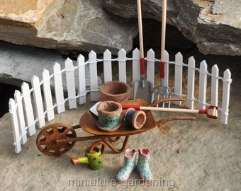 Tools for Fairy Garden Blooms for Miniature Garden
