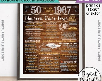 "Change the background of a CUSTOM Flashback design to a Rustic Wood Style Design, 16x20"" SIZE ONLY Printable Sign, Add-On to a Custom Order"