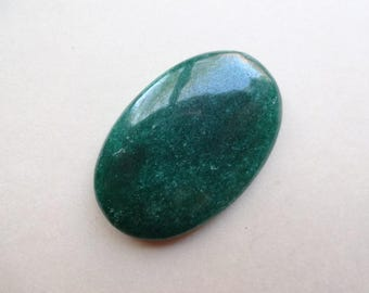Green Aventurine oval cabochon 36x23 mm