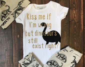 Funny Dinosaur Onesie for Any Little Paleontologist Assistant