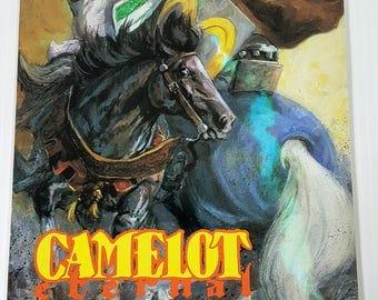 Camelot Eternal 2, King Arthur, Caliber Press, J. califiore, 1990s comics, Legend of King Arthur, Medieval, Arthur of Camelot