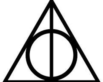 Harry Potter- Deathly Hallows Vinyl Decal
