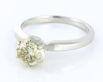 Gracious .75ct VS Diamond Solitaire in the Classic 6 Prong Tiffany Setting 14k white gold - DIAR10133