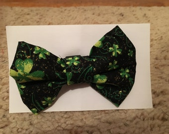 St. Patrick's Day bow tie for dog, cat, or rabbit
