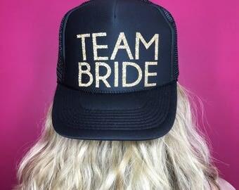 Team Bride Trucker Hat Future Mrs. Bride to Be