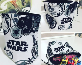 Star Wars Drawstring Dice Bag