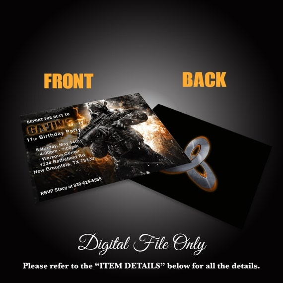 Call Of Duty Report Invitation Facebook Event By