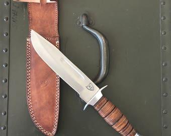 KUZACH Knives LLC 440c Steel Kbar Survival Knife Lifetime Warranty - DJ