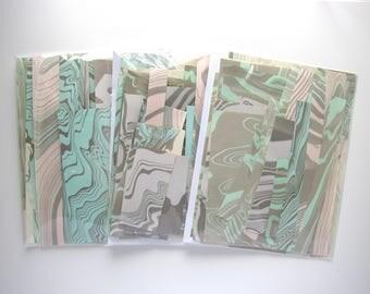 Handmarbled Paper Packs