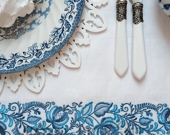 Machine Embroidery Design Gzhel Border