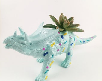 Dinosaur Planter, Succulent Planter, animal planter, air planter, cactus planter, dinosaur birthday, gifts for her, air planter gifts