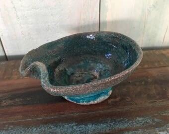 Ceramic Raku the pot