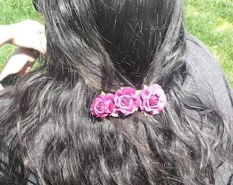 Beauty Rose Clips