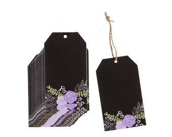 Gift Tags, Favor Tags, Chalk Tags for Gift Bags, Favors, or More