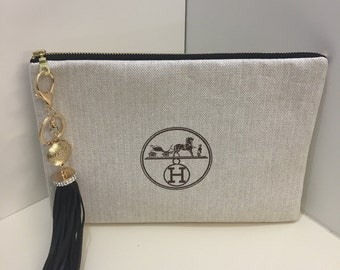 Designer clutch and or makeup bag