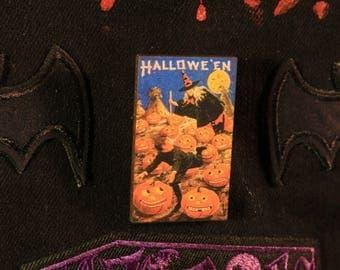 Halloween Pumpkin Patch Pin