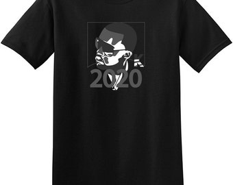 2020 For President Kanye Shirt V2 BLACK Tee Yeezy Sneakers Matching TShirt Yeezus Good Music