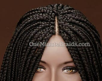 Braided Wig Black color- 24 inches
