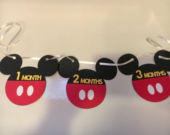 Mickey Mouse Picture Holder Banner