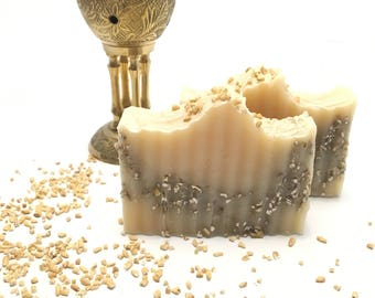 Patchouli & Steel Cut Oats Cold Process Soap