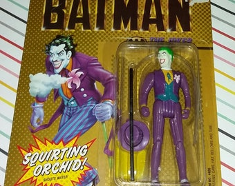 1989 Toy Biz DC Comics Batman Villain Joker Carded Figure