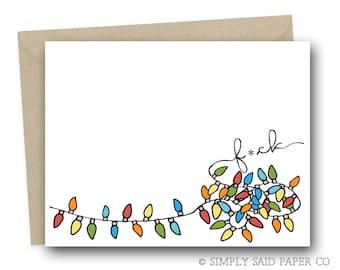 Funny Christmas Card - Christmas Cards, Humor Cards, Funny Holiday Card, Funny Seasonal Cards, X-Mas Card, Adult Card