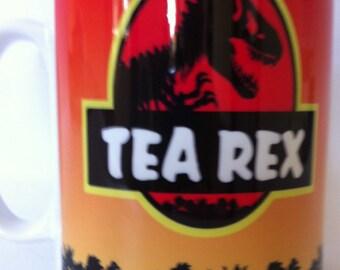 Tea rex mugs dinosaur 166