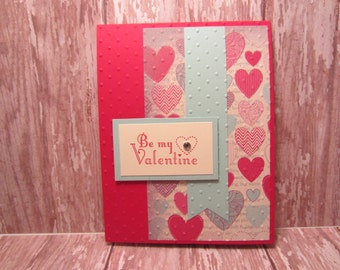 Be My Valentine Diamond Heart Too