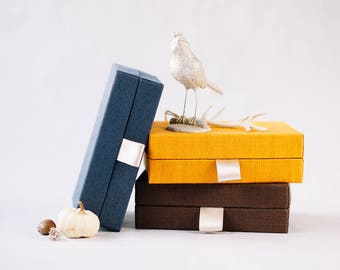 Photo Box - Gift Box - USB Photo Box - Stilish Small Box - Small Photos - Wedding Photo Box DreamingCloudAlbums