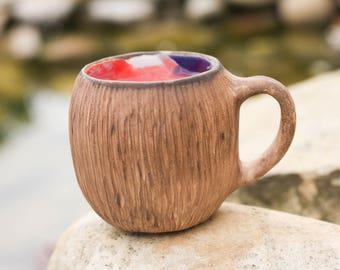 Womens gift Coffee mug Tea cup Teacup Colorful mug Gift|for|boyfriend Anniversary gift Pottery mug Ceramic mug New home gift  Housewarming