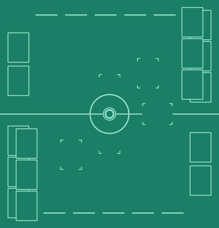 Pokemon TCG Two-Player Battle Mat (25 X 26