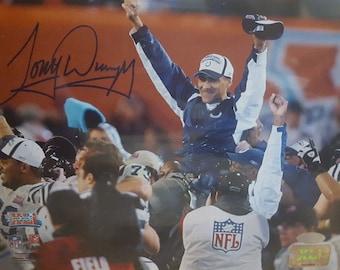 Tony Dungy Autographed Super Bowl Photo