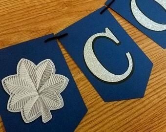 Air Force (Lt Col) CONGRATS Promotion/Retirement Banner