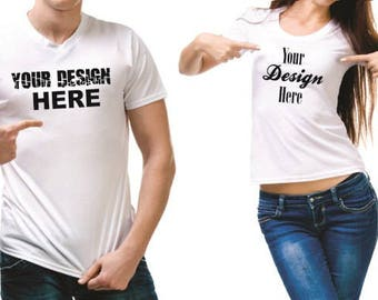 Custom t-shirt printing / Custom t-shirt design / Apparel