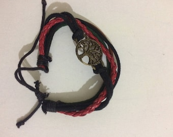 Life of tree charm bracelet