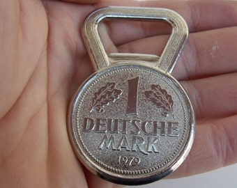 1 MARK Germany Opener / Home Decor / metal / Vintage / Collector / Vintage opener / Germany Opener / 1979