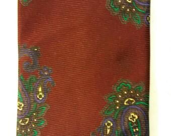 506.  Shelenberger Silk Necktie