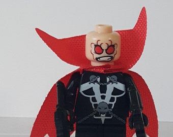 SPAWN Al Simmons Custom Minifigure 100% Lego Compatible!