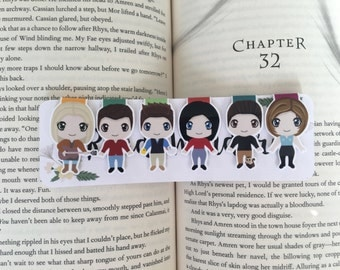 Friends Magnetic Bookmarks
